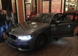 BMW Série 5 s'offre un lancement royal