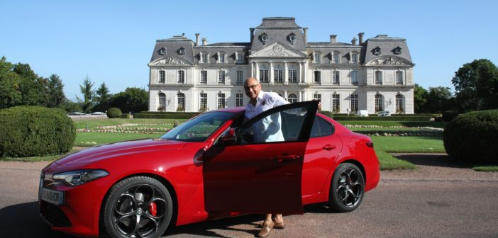 essai tours bernard machefer prend le volant de l alfa rom o giulia auto moto magazine. Black Bedroom Furniture Sets. Home Design Ideas