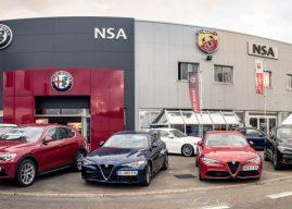 Alfa-Romeo et Jeep en tenue de soirée
