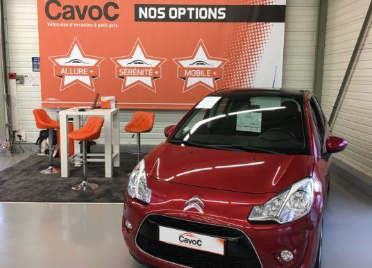 Chez CavoC, un large choix de véhicules à petits prix