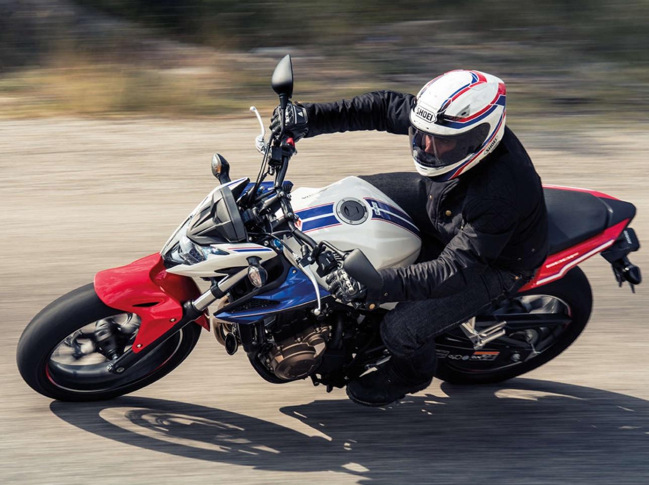 Honda Cb 500 F Look Streetfighter Auto Moto Magazine