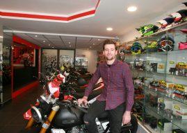 Mathieu Lejault : « La mini-moto : une bonne école de pilotage »