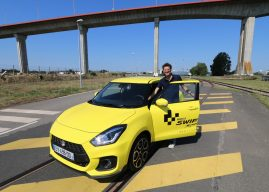 La Suzuki Swift Sport met le turbo à Nantes