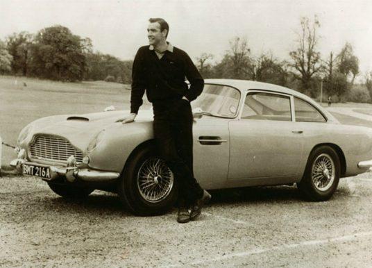 La DB5 de James Bond