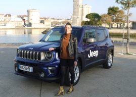 Jeep Renegade à La Rochelle, le nouveau petit SUV urbain
