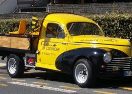 La Band'à La Corniche : Sortie en fanfare pour la 203 pick-up
