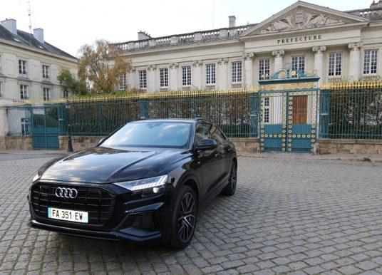 Audi Q8 à Nantes, le seigneur des anneaux