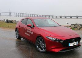 La nouvelle Mazda 3 à l'essai à Saint-Nazaire