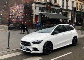 Nouvelle Mercedes Classe B à Lille, le look et l'intelligence