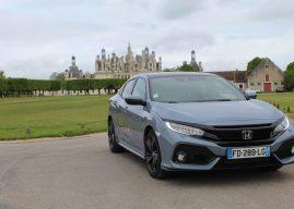 À Blois, Fabrice Orazi a été séduit par la Honda Civic