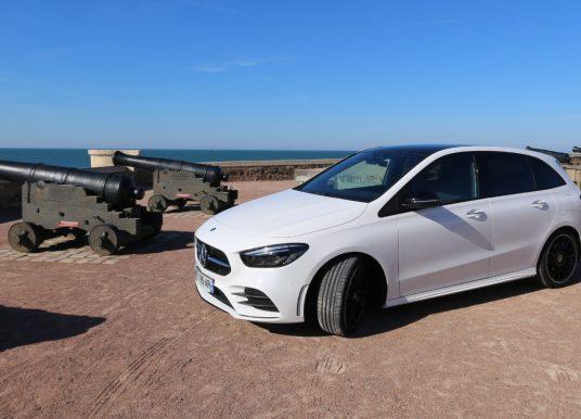 Mercedes Classe B aux Sables d'Olonne, le monospace compact réinventé