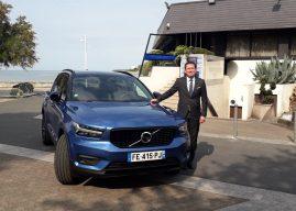 Essai Volvo XC 40 à La Rochelle. La voiture 3 étoiles