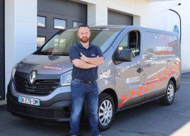 Prépar'Auto 35, cinq unités mobiles de nettoyage en Ille-et-Vilaine