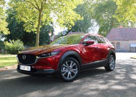 Le nouveau Mazda CX-30 à l'essai au Mans