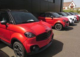 Automobiles Chatenet, Fabriquées en Limousin