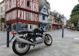 La Continental GT à l'essai à Vannes