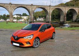 La nouvelle Renault Clio à l'essai à Lorient