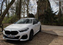 La BMW Série 2 Gran Coupé à l'essai à Orléans