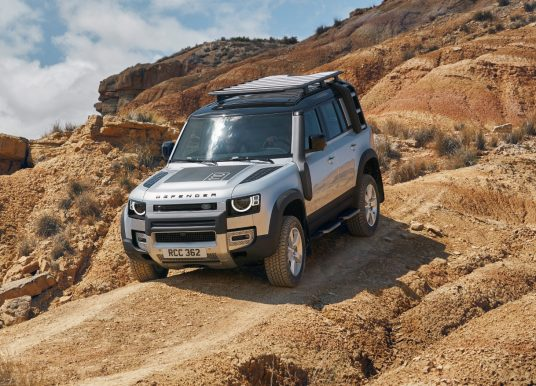 Land Rover Defender, aux confins de la nature