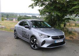 L'Opel Corsa électrique à l'essai à Angers