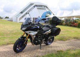 Yamaha Tracer 900 GT, la routière sportive à l'essai à Vannes