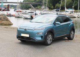 Le Hyundai Kona electric à l'essai à Vannes