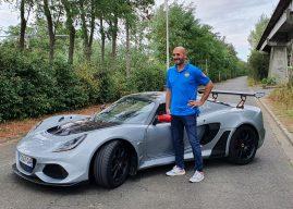 Germain Castano dans le baquet de la Lotus Exige Cup 430