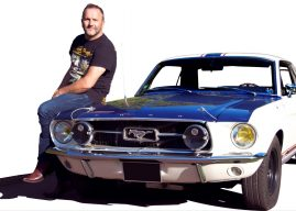On a retrouvé la Ford Mustang de Johnny Hallyday