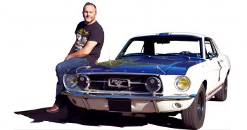 On a retrouvé la Ford Mustang de Johnny Hallyday