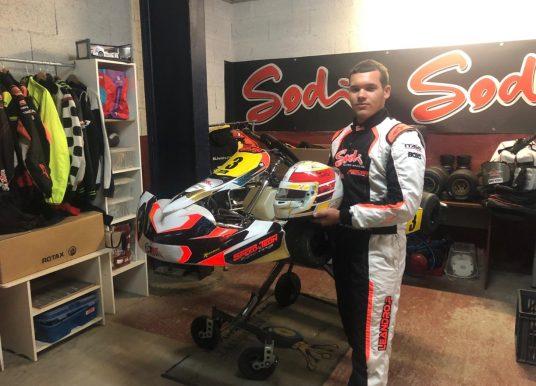 Léandro Padez Sanchez, Du karting à la formule 4
