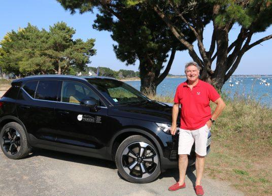 Le Volvo XC 40 Recharge à l'essai à Vannes