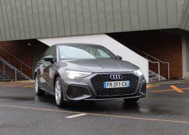 La nouvelle Audi A3 Sportback à l'essai à Blois