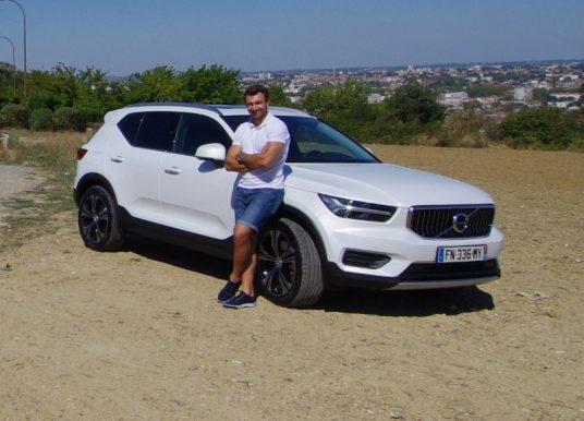 Volvo XC40 T5 hybride rechargeable Essai transformé par Vincent Clerc
