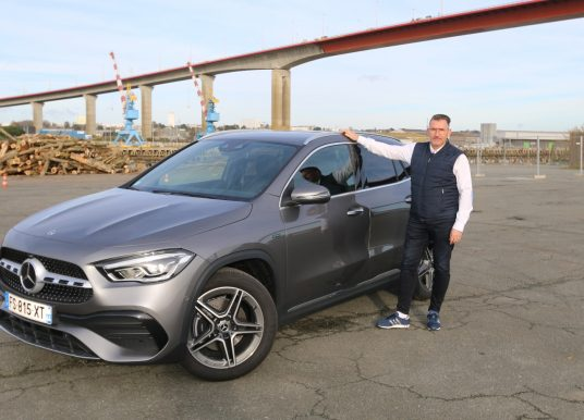 Le Mercedes-Benz GLA EQ Power à l'essai à Nantes
