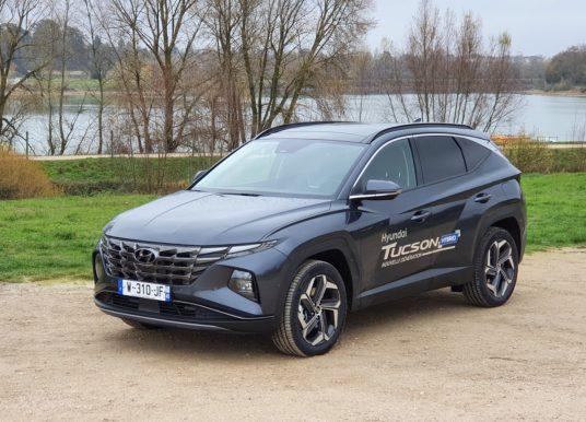 Le Hyundai Tucson Hybrid à l'essai pour Orléans Auto-Moto