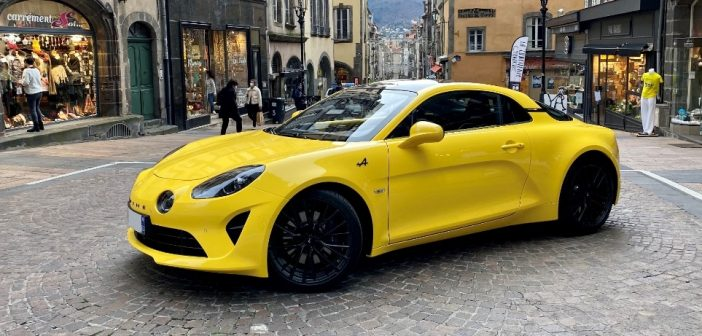 Que pensent les Clermontois de l'Alpine A 110 Color Edition ?