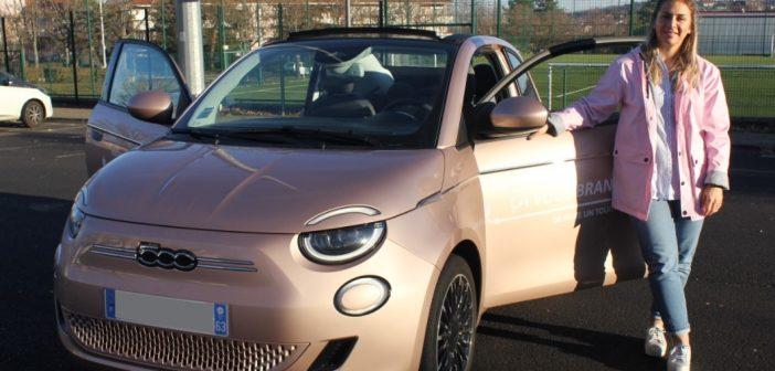 La Fiat 500 électrique à l'essai à Clermont