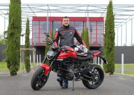 La nouvelle Ducati Monster 950 à l'essai pour Tours Auto-Moto
