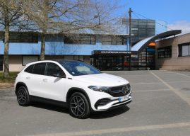 En Mercedes EQA 100% électrique à Cholet