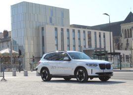 La BMW iX3 à l'essai pour Tours Auto-Moto