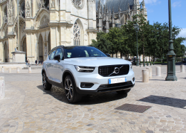Volvo XC40 T5 Recharge, le SUV hybride rechargeable présenté aux Orléanais