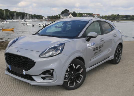 Ford Puma à Vannes, il roule avec un carburant à 0,69€/L !