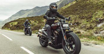 Harley-Davidson Sportster S, une révolution